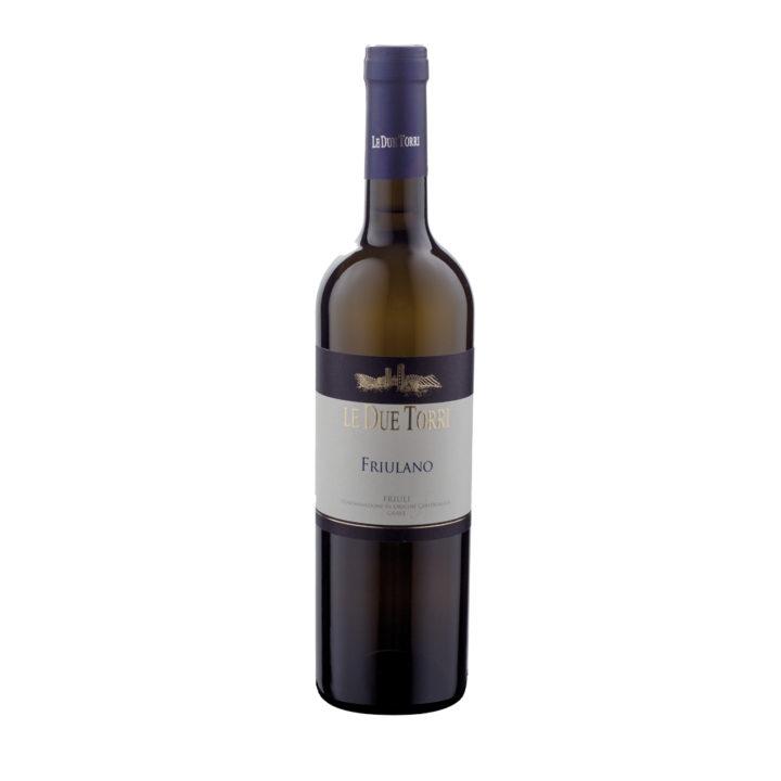 Flasche italienischer Weißwein, Friulano, Weinanbaugebiet Grave, Delizia