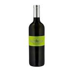 Flasche italienischer Weißwein, Bio Blanc Furlan, Weinanbaugebiet Collio, Delizia
