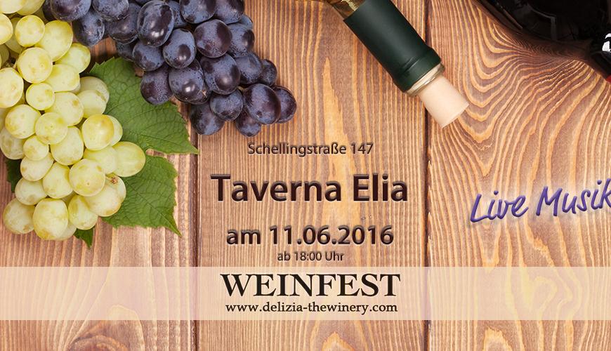 Weinfest in der Taverna Elia