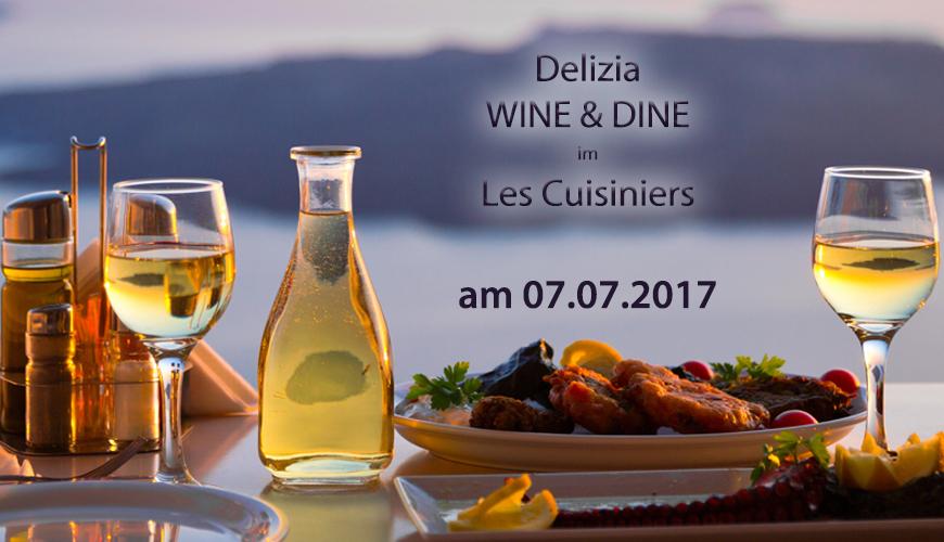 Dinner mit italienischem Wein